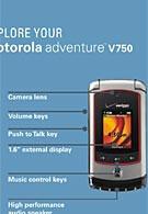 Motorola Adventure V750 is rugged
