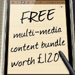 Some U.K. stores offer free multimedia bundle worth £120 with Samsung GALAXY Note through March 31st