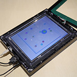 NEC shows off tactile touchscreen with directional force feedback