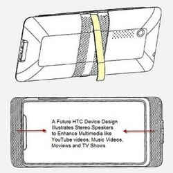 HTC working on a portable media player, suggests patent