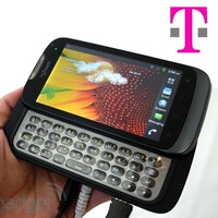 T-Mobile myTouch QWERTY smartphone made by Huawei taken for a photo shootout