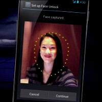 Samsung's version of Face Unlock requires you to blink before it grants access to the phone
