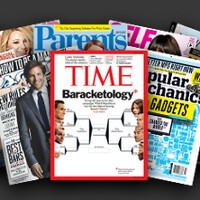 $10 monthly for all you can eat... magazines is Next Issue Media's Hulu for periodics