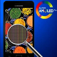 Samsung had to combine production methods for the first true HD Super AMOLED screen on the Galaxy S III