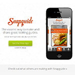 Check out Snapguide, an awesome guide-making app for iOS
