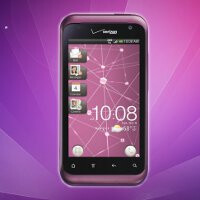 Plum colored HTC Rhyme will soon see a new update adding a new in-call volume control and more