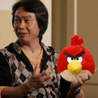 Mario and Zelda creator, Shigeru Miyamoto, admits to having a liking to those Angry Birds