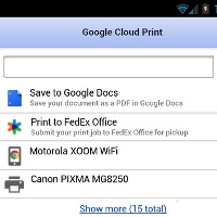 Google's Cloud Print partners with FedEx to get you printing from Android to the nearest branch