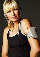 Maria Sharapova and Sony Ericsson introduced accessories line