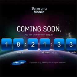 Samsung launches Galaxy S III teaser - countdown timer ends tomorrow