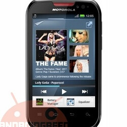 Motorola XT560 makes an entrance: Android on budget