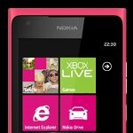 Nokia's Facebook page briefly showed off the magenta Lumia 900