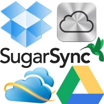 Google Drive vs SkyDrive vs iCloud vs Dropbox vs SugarSync: cloud services comparison