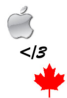 *UPDATED* Apple not happy with Rogers' iPhone plans