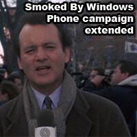 #SmokedByWindowsPhone extended - again