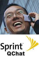 Sprint adds 14 QChat markets