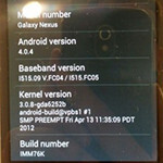 Reports are coming in of Verizon Galaxy Nexus owners getting 4.0.4 update