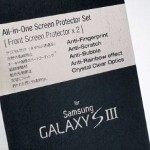 Screen Protector for Samsung Galaxy S III lends credence to speculation about a 4.8 inch display
