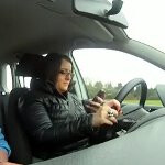Belgian driving school tell students to text while driving in order to pass and get their license
