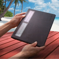 Logitech Solar Keyboard Folio for the new iPad can last two years on a full charge