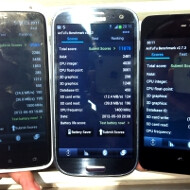 AnTuTu benchmark of the Galaxy S III and Meizu MX with quad-core Exynos shows 20% gain vs the HTC One X