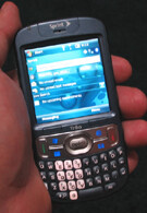 Hands-on with the Treo 800w