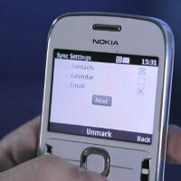 Nokia demonstrates Mail for Exchange for its Series 40 dumbphones