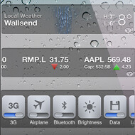 Dashboard X tweak for iOS brings Notification Center widgets down to the homescreen