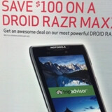 Is Verizon about to shave $100 off the DROID RAZR MAXX?