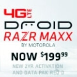 Verizon cuts $100 off the Motorola DROID RAZR MAXX and wants you to add Color for Facebook