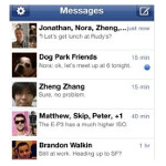 Report: SMS messaging on the decline, replaced by messages sent via Facebook