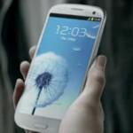 Samsung Galaxy S III T.V. ad debuts