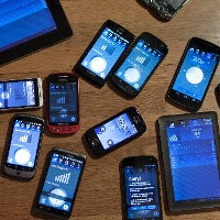 Android device diversity pictured