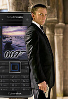 Latest James Bond to use Sony Ericsson C902