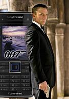 Latest James Bond to use Sony Ericsson C902