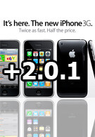 Apple releases iPhone 2.0.1 software