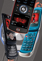 Motorola expands ROKR line with three new handsets