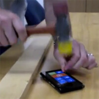 Cringing video shows Nokia Lumia 900 being used as a hammer
