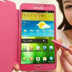Samsung Galaxy Note in pink is in bound for the UK sometime in June