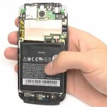 HTC One S taken apart to repair screen
