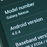 Android 4.0.4 update hits Verizon owners of the Samsung Galaxy Nexus