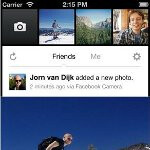 Dedicated Facebook Camera app for iOS aggregates all of your friends' photos and more