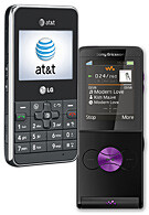 AT&T adds LG Invision and SE W350 to its line