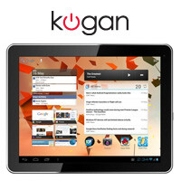 Kogan shows off sub $200 10-inch ICS tablet