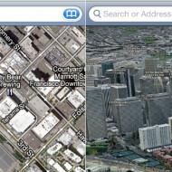 Screen shots of Apple's new 3D Maps app leak