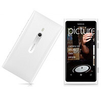 Phones4U offers tooth whitener with the white Nokia Lumia 900