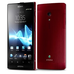 Sony Xperia ion in red headed to Europe