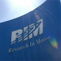 RIM's stock fall to an 8 year low