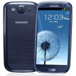 Pebble Blue Samsung Galaxy S III in stock overseas