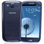 Pebble Blue Samsung Galaxy S III in stock overseas